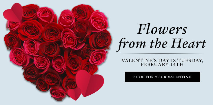 Valentine's Day Flowers & Gifts Delivered by Billy Heroman's Baton Rouge, LA, surrounding areas or nationwide.
