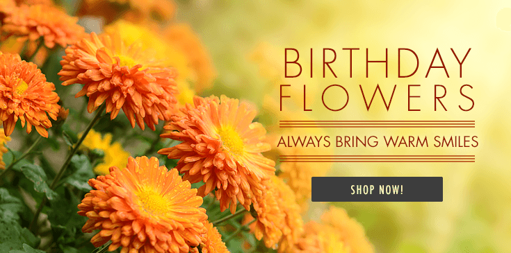 We delivery birthday flowers to Baton Rouge as well as across the nation. Get same day delivery of birthday gift baskets - gourmet baskets, fruit baskets, gourmet dinners, gourmet desserts... whatever it takes to make their birthday special.