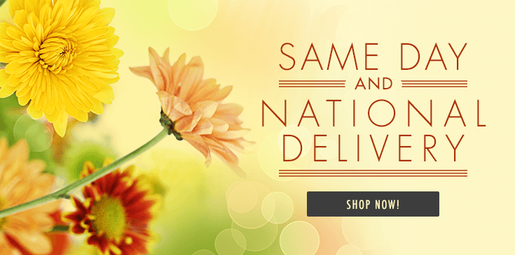 Flowers delivered nationwide - we delivery flowers nationally by local florists.