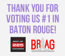 Thanks to 225 and DIG for voting Billy Heroman's #1 in Baton Rouge
